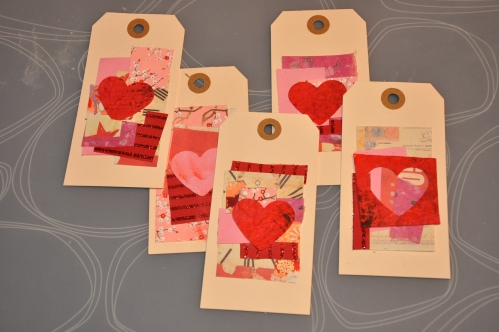Collage Gift Tags